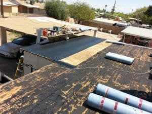 Roofing Case Study - The Restoration and Re-sealant..