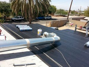 Roofing Case Study - Sealant Foundation laid