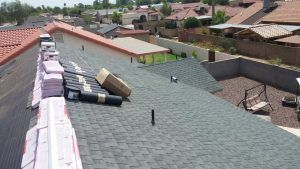 Shingle Roofing Repair in Tempe, Arizona