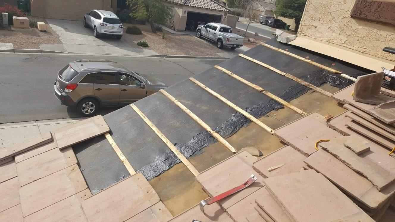Underlayment Roofing Repair - Maricopa Gallery - Castile Roofing (3)
